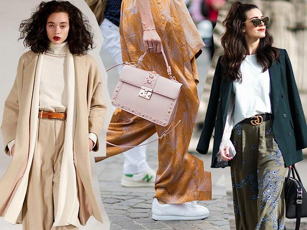 Pantaloni palazzo: il trend dell'autunno