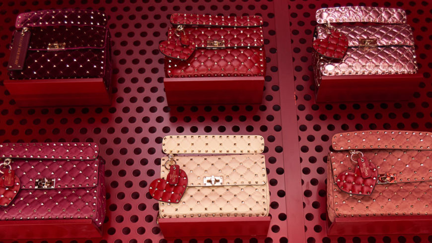 It-bags: Valentino Rockstud Spike limited edition