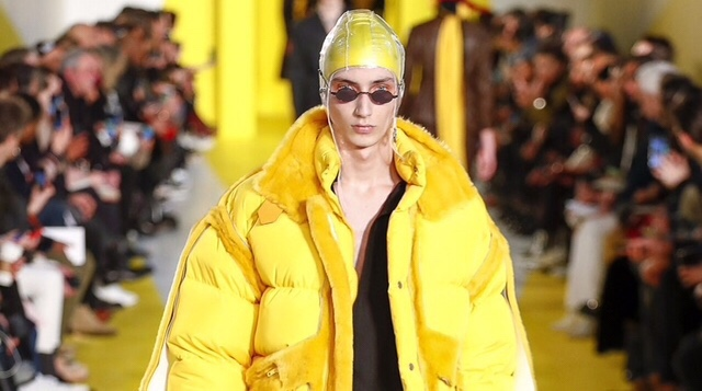 New Horizons at Maison Margiela John Galliano's first menswear collection for the brand