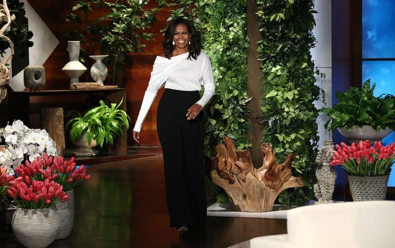 Michelle Obama Makes a Minimalist Fashion Statement on Ellen