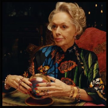 Tippi Hedren Stars in Gucci's New Timepieces and Jewelry Campaign
