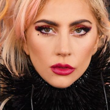 Lady Gaga might be working on a brand new luxury makeup line