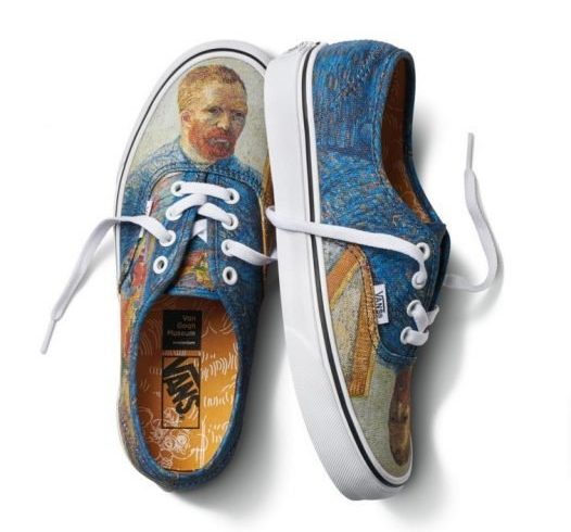 The art of Van Gogh meets Vans. Here are all the models in the collection