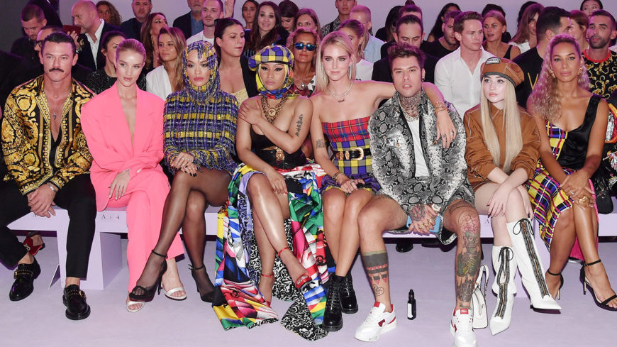 What is seen at Fashion Week (awaiting the great final)