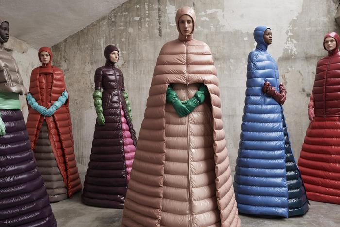 Jackets Moncler Genius by Piccioli in NY