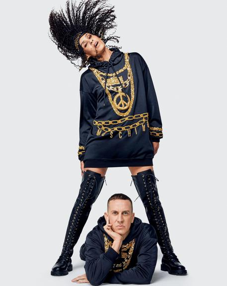 Moschino@H&M, pop and logos with Scott