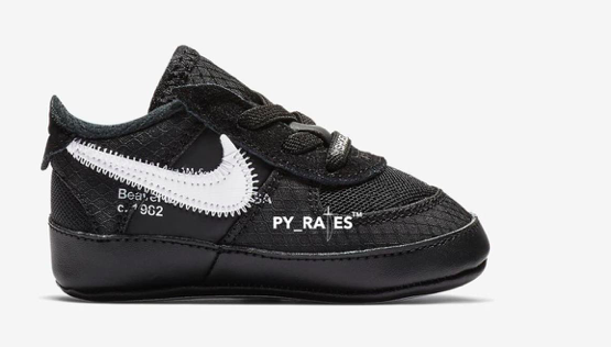 Off-White x Air Force 1s Coming in Toddler Sizes