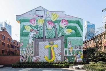 Gucci, the new art walls celebrate personalization