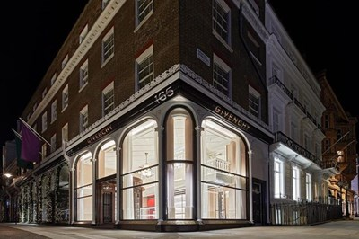 Givenchy inaugurates a flagship in London