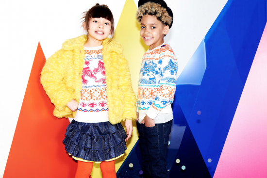 Kenzo Kids: Christmas is super pop with the N ° 2 capsule collection
