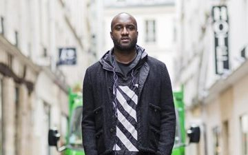 Evian enlists Virgil Abloh