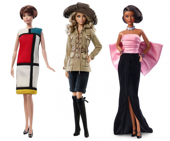 Barbie's wardrobe? Now it's signed Yves Saint Laurent