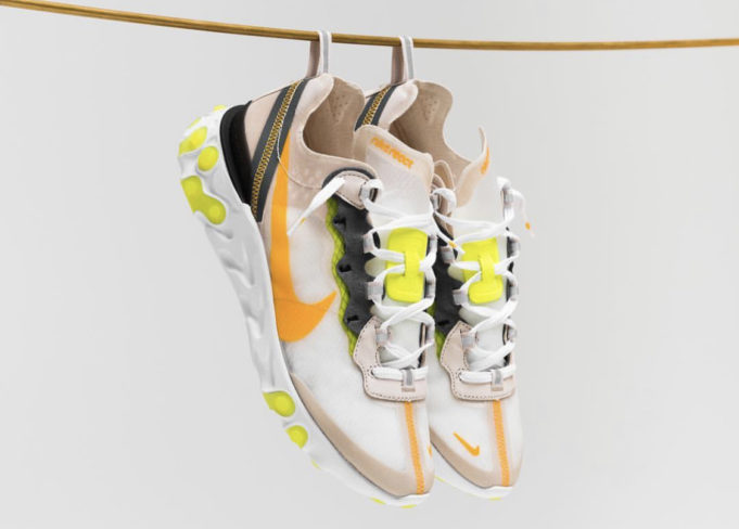 Countdown to the Nike Light React Element 87 Light Orewood, Thursday by Franzese