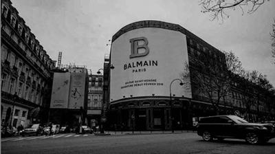 Balmain, new Parisian boutique coming soon