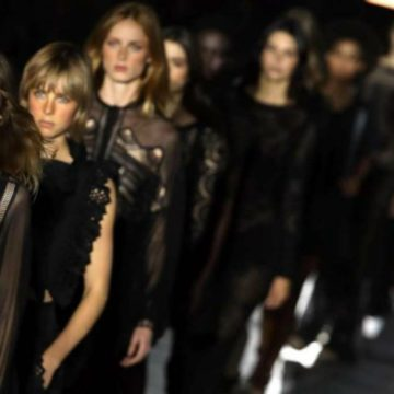 Presented the Milan Fashion Week calendar, all appointments
