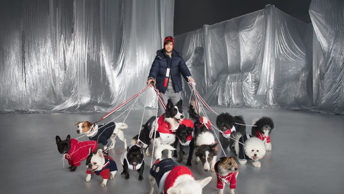 Moncler presents the new Moncler Poldi Dog Couture collection, created in collaboration with Poldo Dog Couture