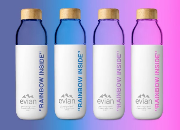 Evian launches the eco collection bottle signed by Virgil Abloh