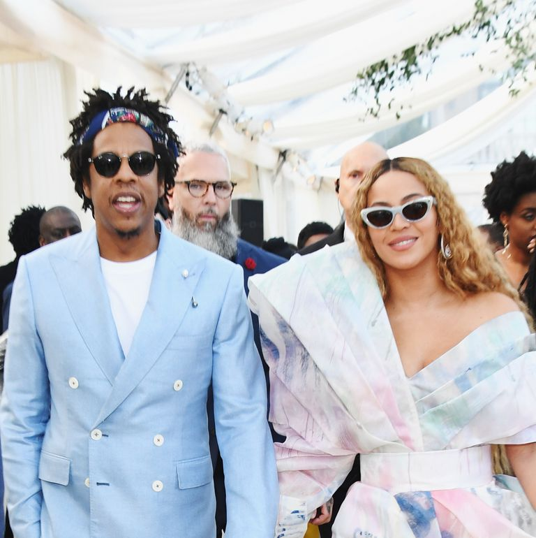 Beyoncé Just Stepped Out in the Prettiest Pastel Balmain Dress