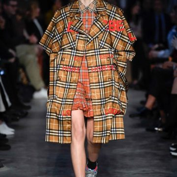 Riccardo Tisci Builds His Own World at Burberry