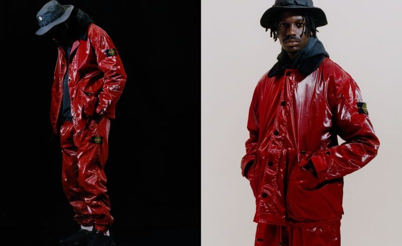 Stone Island's new collaboration with Supreme