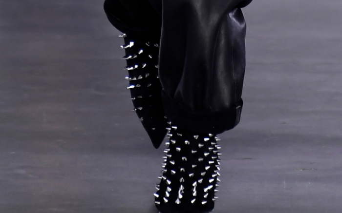 These Balmain Spiked Boots Will Take Your Eye Out