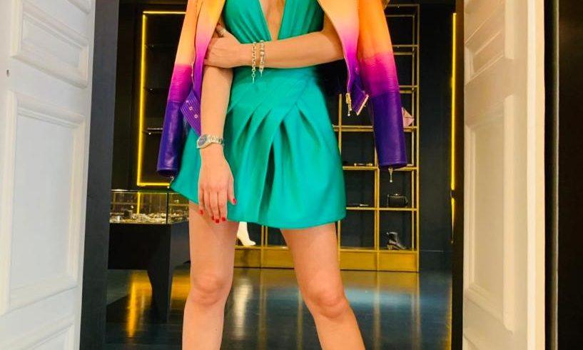 Fausto Puglisi from Messina returns to dress Claudia Mercurio