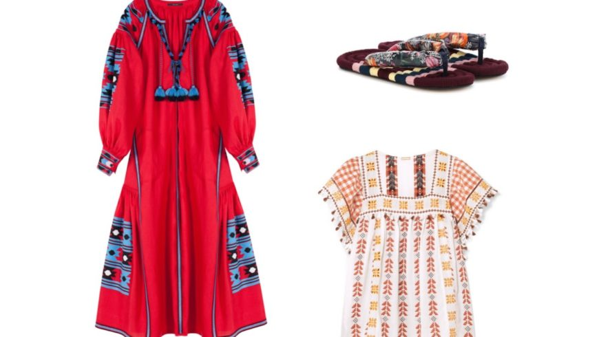 The mash-up of distant cultures and ancient traditions with folk style returns