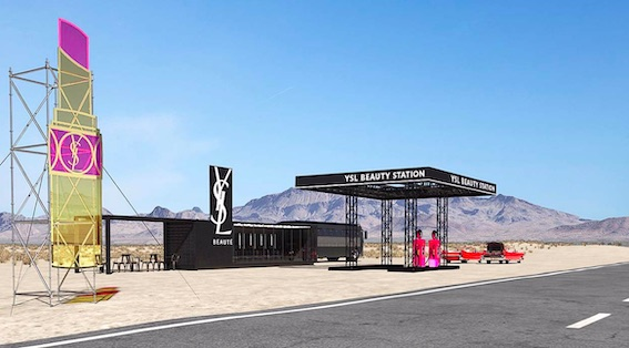 YSL to Host Gas Station Beauty Pop-Up at Coachella