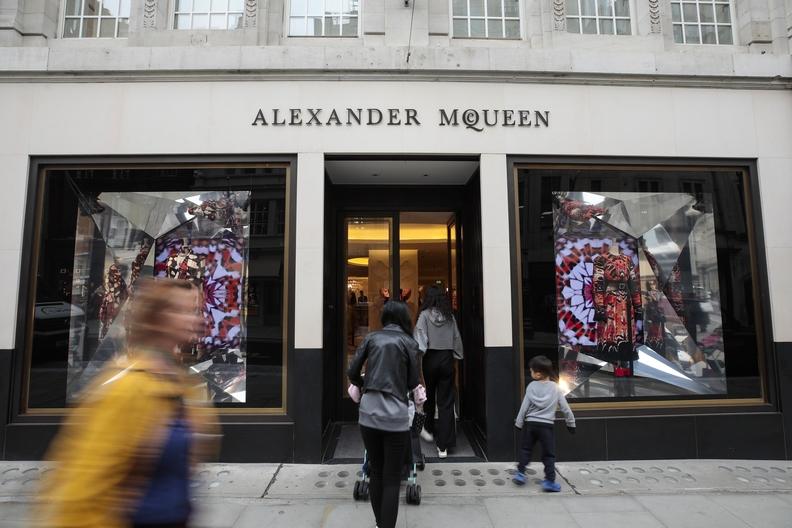 Alexander McQueen opening in SoHo