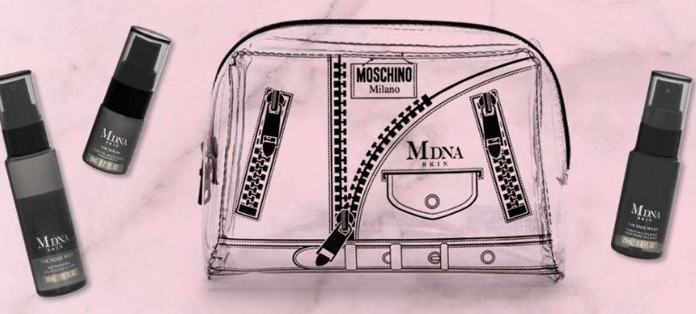 "Madonna launches ""capsules"" skincare with Moschino"