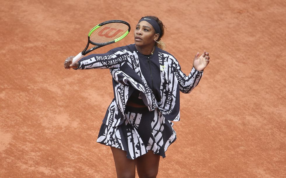 Roland Garros 2019: Virgil Abloh imagines an outfit in homage to Serena