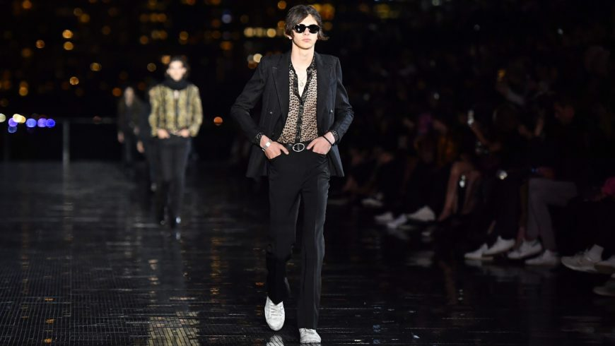 Saint Laurent Does Gender Fluidity the LA Way