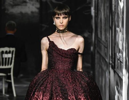 A Symphony of Sculpted Shadows at Dior