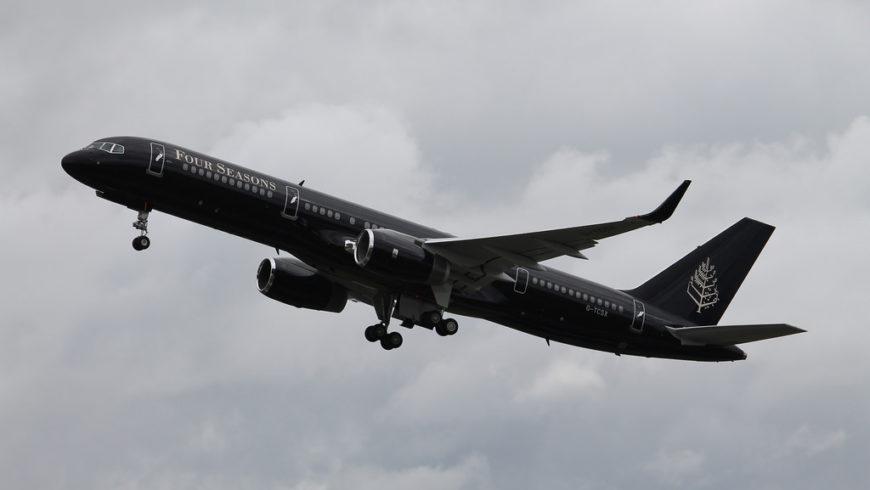 Il nuovo jet privato di Four Seasons