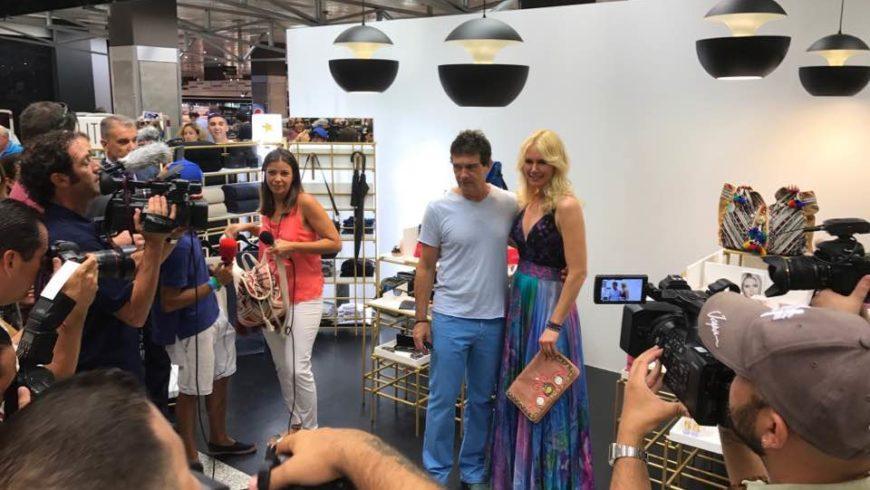 Valeria Mazza e Banderas : nuova coppia della moda