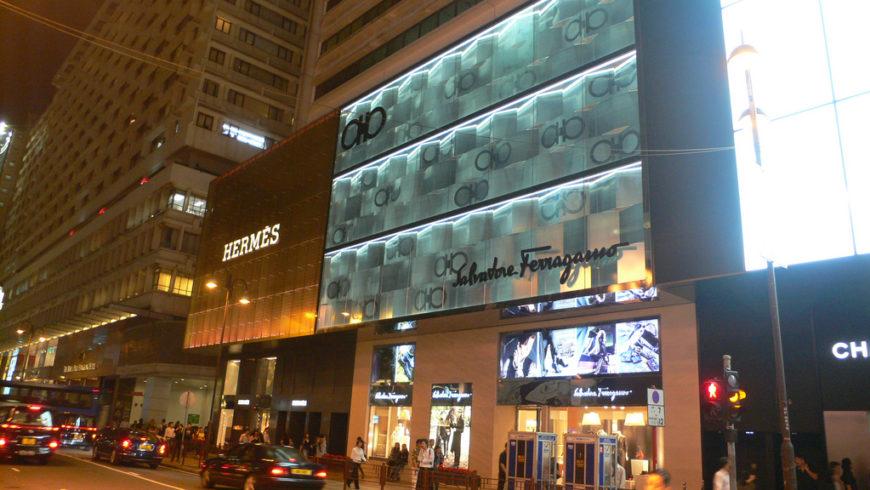 Ferragamo riapre ad Hong Kong dopo il restyling