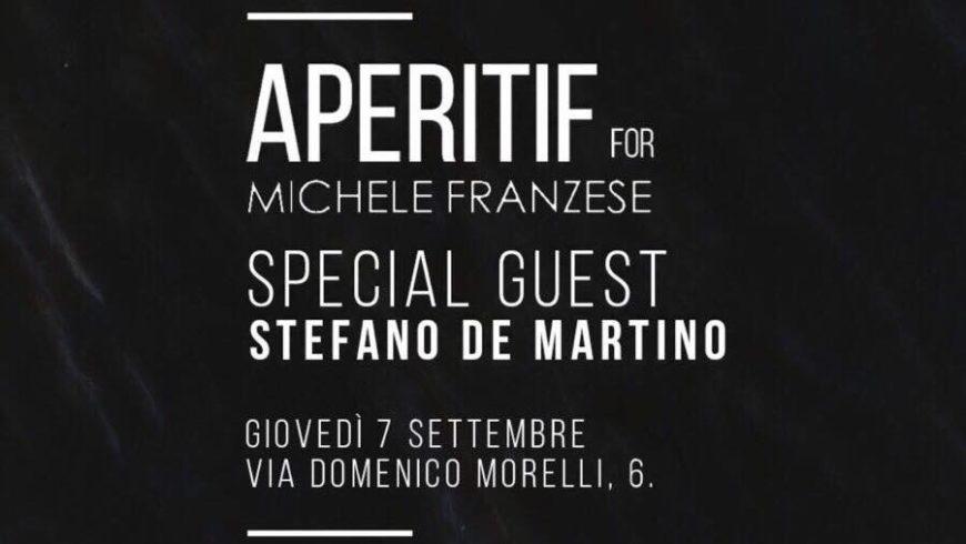 Aperitif for Michele Franzese: collezione invernale 17/18