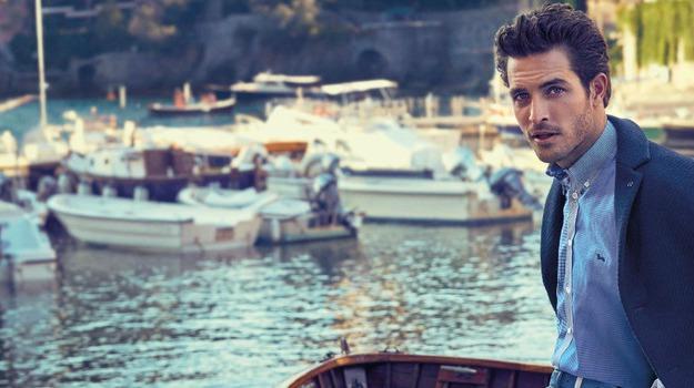 Francesco Carrozzini firma l'ADV Harmont & Blaine