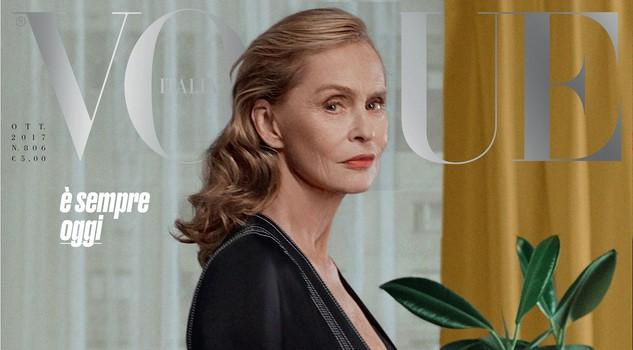 75 anni in copertina su Vogue Italia: la gioia di Lauren Hutton