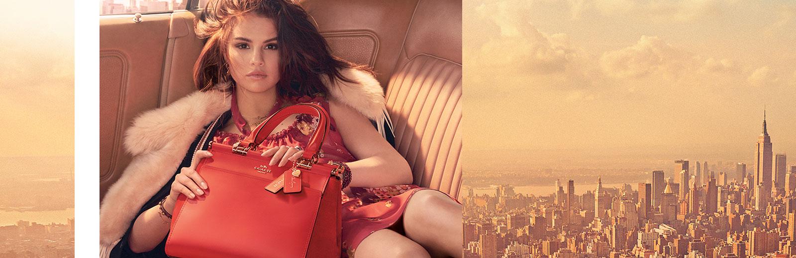 Selena Gomez per Coach: la collezione