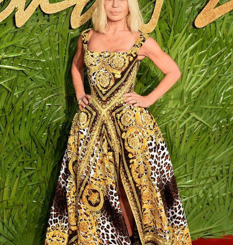 A Donatella Versace il premio Fashion Icon 2017