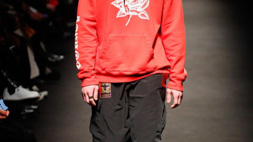 Fierceness and streetwear for Marcelo Burlon in Milan