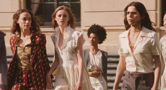 Rianne Van Rompaey new model for Chloé
