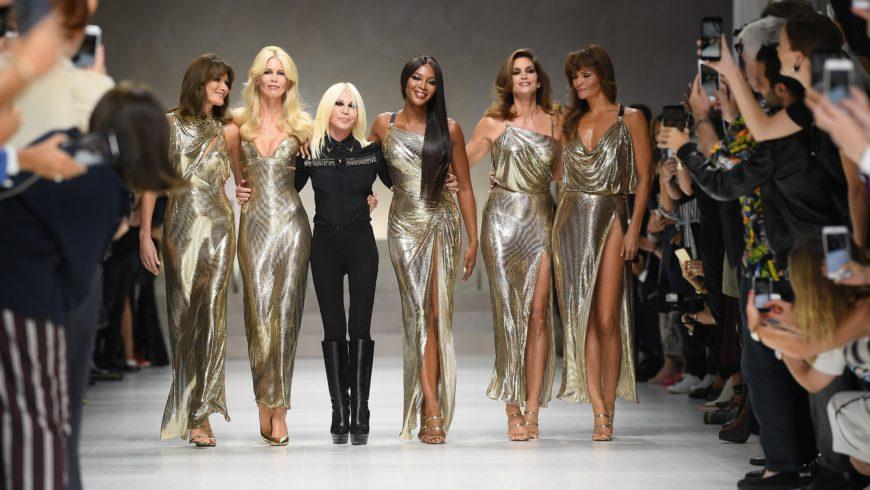 Versace: tornano le supermodel anni '90