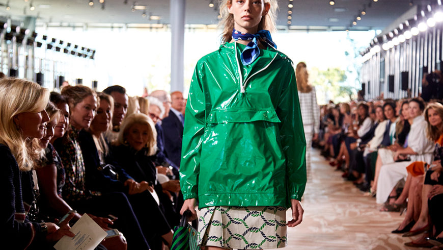 Is the rain anorak the new leather jacket?