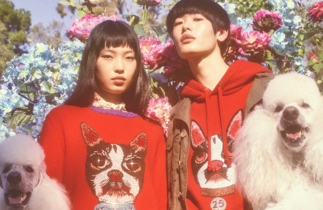 Gucci releases a collection for Chinese new year