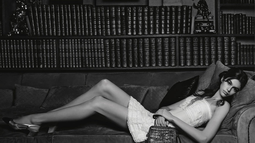 Kaia Gerber's first Chanel campaign is here