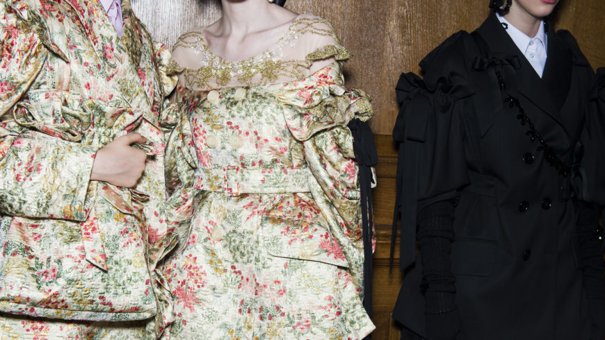 Simone Rocha does Victorian tomboys