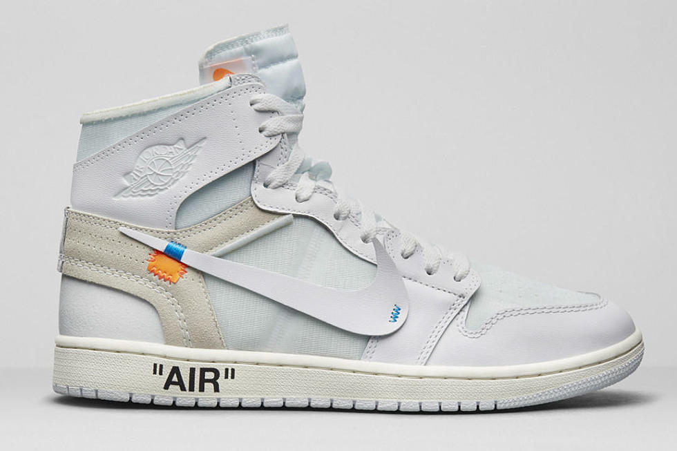 Off-White Nike Air Jordan 1 All – White gets a release date