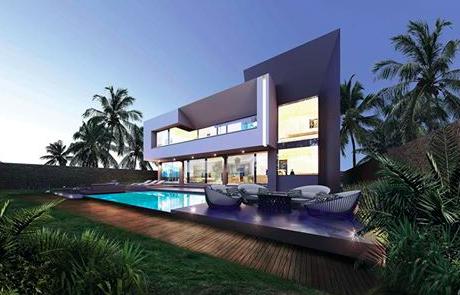 Roberto Cavalli designs the extra luxury villas of Saudi Arabia